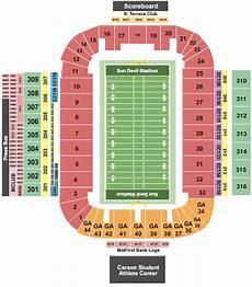 Chepauk Stadium Seating Charts Arizona State Sun Devils Tickets College Football Pac 10