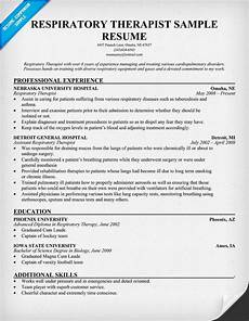 Sample Respiratory Therapy Resume Free Resume Respiratory Therapist Resume Http