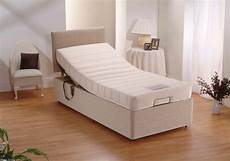 2ft6 small single adjustable electric bed memory foam