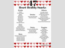 47 Heart Healthy Snack Ideas   Just 2 Sisters