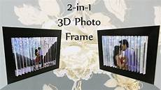 Two One Two Design 3d Photo Frame Diy 2 Pictures In 1 3d Optical Illusion