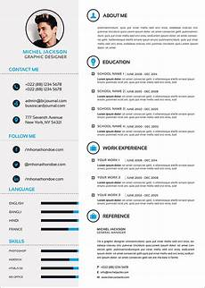 Layout For A Cv Free Psd Cv Template Cover Letter Amp Portfolio Design For