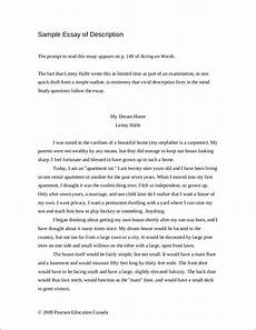 Examples Of Descriptive Essay Free 9 Descriptive Essay Examples In Pdf Examples