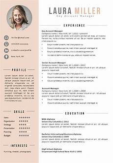 Resumetemplate Com 16 Resume Template Kea Modern Word Resume Template Cv