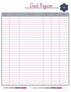 Check Ledger Happily A Housewife Updated Home Management Binder