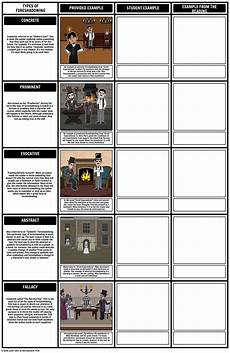 How To Do A Storyboard Here Is Our Types Of Foreshadowing Worksheet Storyboard