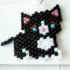 beadwork cat 120 best images about beading cats bead pattern on