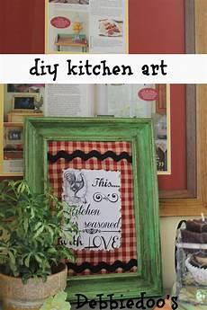 10 easy diy kitchen craft decor ideas debbiedoos
