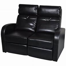 artificial leather home cinema recliner reclining sofa 2