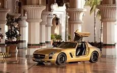luxury design mercedes sls amg desert gold 17