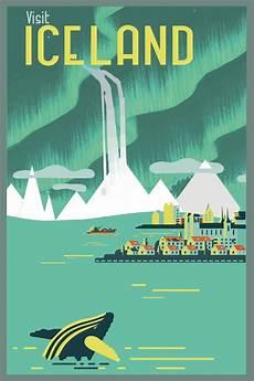 retro plakat fiona s graphic design vintage travel poster