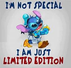not special just limited edition stitch quote lilo and