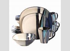 GIBSON elite Althea 16 Piece Teal Dinnerware Set 98597356M