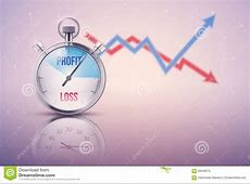 Stopwatch For Forex Trader Vector Illustration