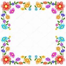 cornice di fiori cornice di fiori colorati vettoriali stock 169 karmina83