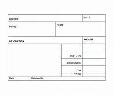 Australian Receipt Template Sales Receipt Template Free Word Excel Pdf Format Download