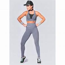 Light Grey High Waisted Womens Grey High Waisted Sports Legging Running Tights