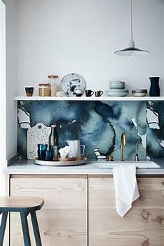 kitchen backsplash wallpaper ideas 25 wallpaper kitchen backsplashes with pros and cons