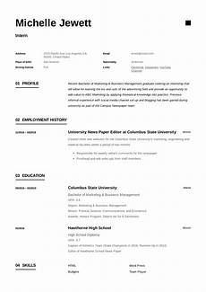 Intern Sample Resume Intern Resume Amp Writing Guide 12 Samples Pdf 2019