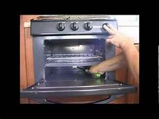 Lighting A Gas Stove 7 How To Light A Rv Stove And Oven Youtube