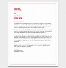 Sample Of Hardship Letter Hardship Letter For Immigration Word Doc Sample