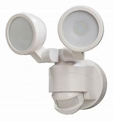 Intertek Lighting Home Depot 180 Degree White Motion Activated Outdoor Integrated Led