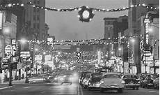 Christmas Lights In Muskegon Mi Peek Through Time In 1950s Downtown Jackson During