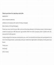 Thank You Letter For Accepting Job Offer 11 Job Offer Thank You Letter Templates Pdf Doc Apple
