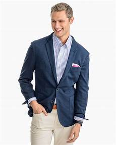 casual sport jacket navy heathered southern tide