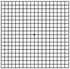 Amd Eye Chart Amsler Grid Metamorphopsia Age Related Macular