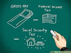 How To Calculate Payroll Taxes How To Calculate Payroll 10 Steps With Pictures Wikihow