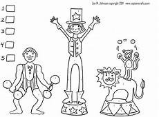 circus mirandus printable colorbynumber crafty circus