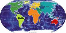 Continent World Map Big Map Of Continents Of The World Nations Online Project