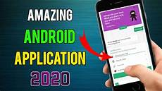 Amazing Android Applications Amazing Android Application 2020 Most Useful Android