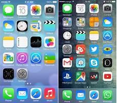 Iphone Live Vs Dynamic Wallpaper by Windows 10 Mobile Start Screen Vs Ios Home Screen