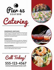 Catering Flyer Catering Services Offered Flyer Template Mycreativeshop