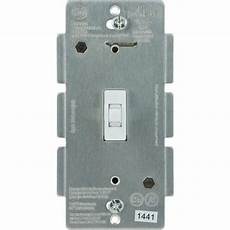 Ge Light Switch Smart Ge Z Wave Plus 15 Amp 3 Way White Toggle Light Switch At