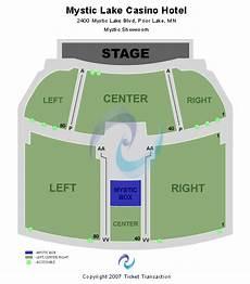 Mystic Theater Petaluma Seating Chart Mystic Lake Showroom Seating Chart