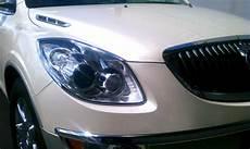 Buick Enclave Light Cover 08 2012 Buick Enclave Chrome Head Light Bezels