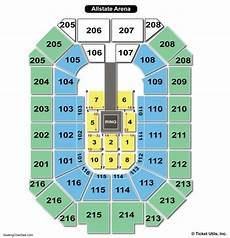 Wwe Seating Chart Allstate Arena Allstate Arena Seating Chart Seating Charts Amp Tickets