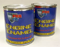 Ford Light Blue Engine Paint Por15 Engine Enamel Engine Paint Pontiac Light Blue 1 Pint