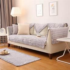 grey europe flannel sofa covers fleeced fabric knit eco