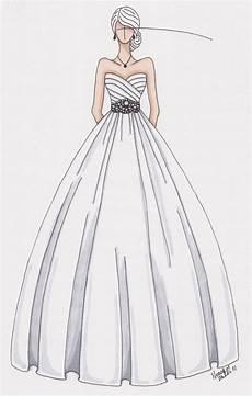 custom wedding gown sketch by gownsketch on etsy wedding