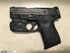 Smith And Wesson M P Shield 9mm Light Armslist For Sale Smith Amp Wesson M Amp P Shield 9mm W Tlr