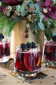 a festive new year s eve sangria bar cocktails and
