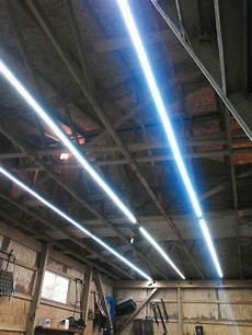 Garage Door Led Lights Inexpensive Garage Lights From Led Strips Lighting
