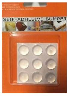 self adhesive clear silicone gel door cabinet drawer