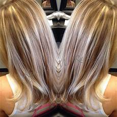 Light Brown Hair With Beige Highlights Full Beige Highlights And Light Golden Brown