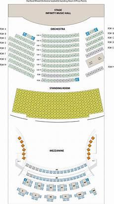 Cms Seating Chart Seating Chart Infinity Hall Hartford