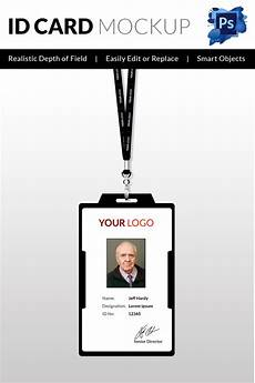 Pvc Id Card Template 18 Id Card Templates Free Psd Documents Download Free